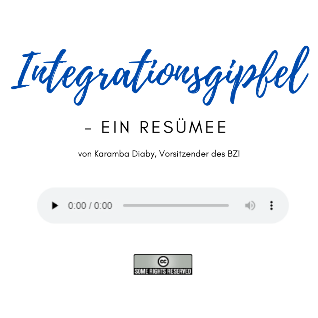 Podcast zum Integrationsgipfel