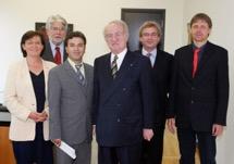 Antrittsbesuch des BAB Vorstands bei Bundespräsident Johannes Rau