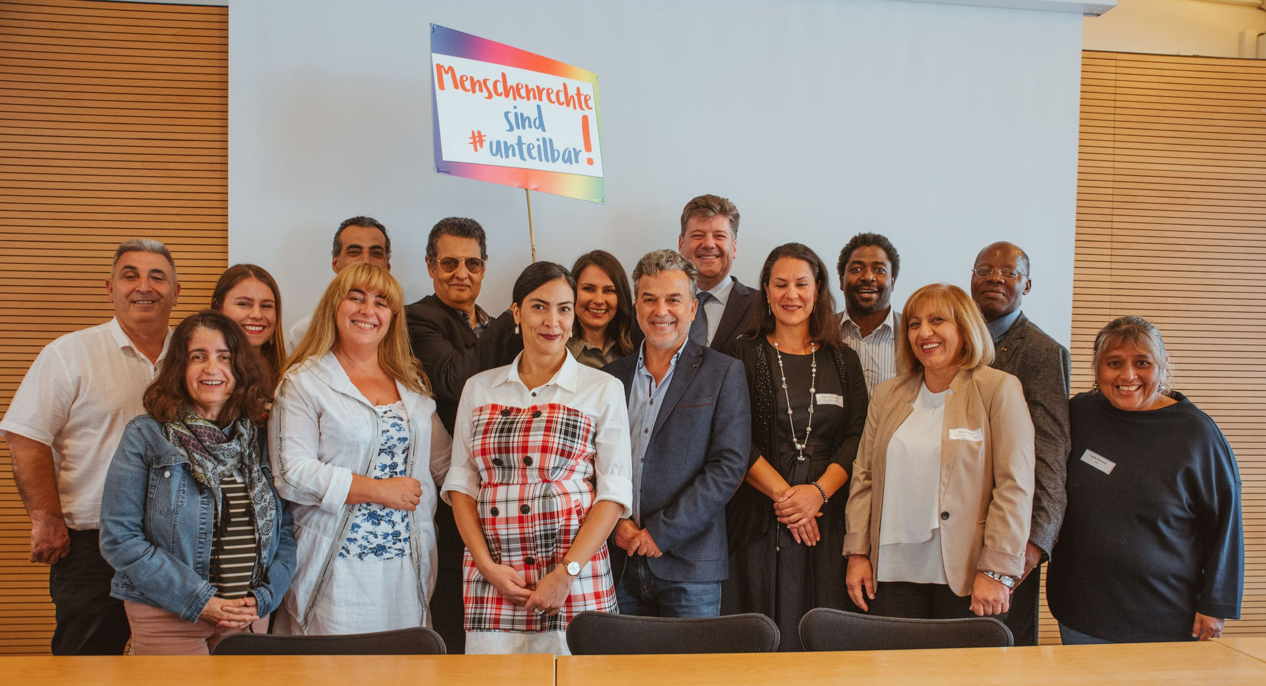 Gruppenbild der Delegierten des BZI