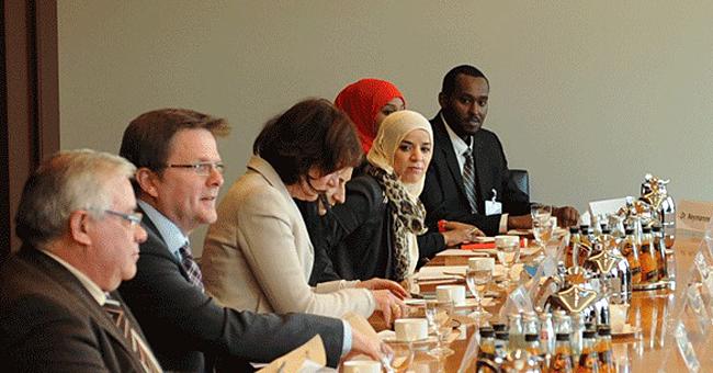 Auftaktgespräch zum Thema Zuwanderung und Integration
